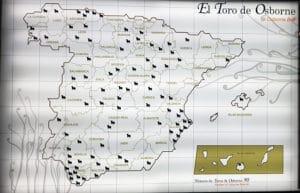 El Toro de Osborne en España - Cin Tínez